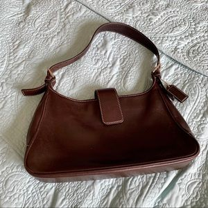 Brown Coach Leather purse